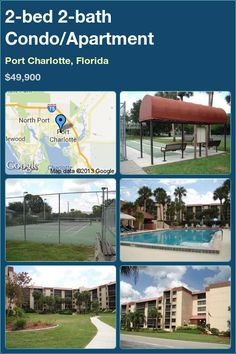 2-bed 2-bath Condo/Apartment in Port Charlotte, Florida ►$49,900 #PropertyForSale #RealEstate #Florida http://florida-magic.com/properties/1753-condo-apartment-for-sale-in-port-charlotte-florida-with-2-bedroom-2-bathroom