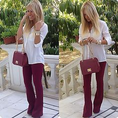Fall colored flares.