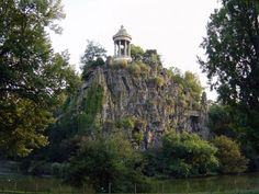 Temple of Sybille, Parc des Buttes Chaumont, Paris