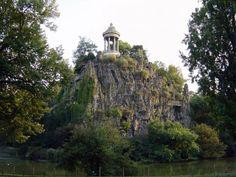 Temple of Sybille, Parc des Buttes Chaumont, Paris