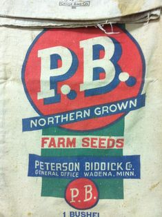 P.B. Farm seeds.  Found and shot by @Allan Lloyds Peters