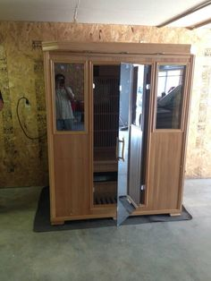 Good Health Saunas GS 3-Person Infrared Sauna. Delivered and Installed. #happycustomer #detox # relax