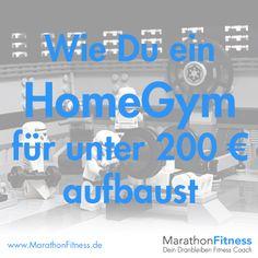 Keep it simple ist das Motto. Diese Fitnessgeräte für Zuhause bekommst Du für unter 200 Euro.