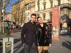 """Arianna e Roberto """"Dopo tanto lavoro, finalmente una giornata senza camice in giro per Parma!"""""""