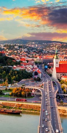 Bratislava is one of the most beautiful capitals in the world Slovakia Travel Honeymoon Backpack Backpacking Vacation Places To Travel, Places To See, Saint Marin, Travel Around The World, Around The Worlds, Bósnia E Herzegovina, Wachau Valley, Bratislava Slovakia, Central Europe