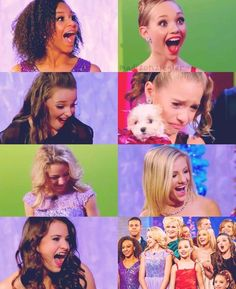 Nia got a baking set Kendall got makeup Paige got a vanity Brooke got a home recording studio  Chloe got books + a reader + a lifetime supply of books Maddie got amazing tap shoes and a $5000 shopping spree And Kenzie got a puppy!