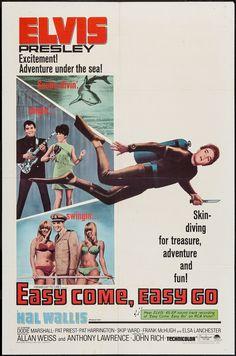 Easy Come, Easy Go (1967) Stars: Elvis Presley, Dodie Marshall, Pat Priest, Pat Harrington Jr., Skip Ward, Elsa Lanchester, Frank McHugh, Sandy Kenyon ~ Director: John Rich