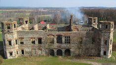Ruiny pałacu Tarłów w Podzamczu Piekoszowskim