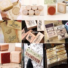 Min Order is $5,(24 Different Styles) DIY Scrapbooking Alphabet Stamps Vintage Wood Rubber Craft Ink Pad Stamp Wax Seal Stamp-in Stamps from...