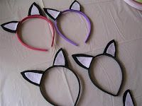 Great Frugal ideas! Kitty Cat Birthday Party - Moneywise Moms