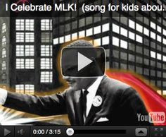 Simply Kinder: Martin Luther King Day Activities - Free Reader  - Harry Kindergarten Video!