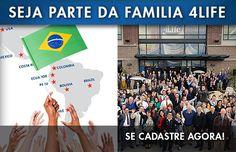 4Life Brasil - Venha construir a maior rede da 4life no Brasil