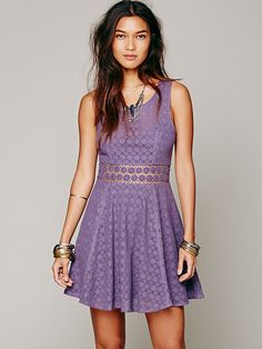 Free People Free People Fitted With Daisies Dress, Ft28831.74