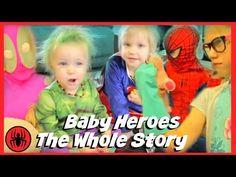 Kid Deadpool Origins Story at Sleepover Party w Wolverine, Captain America Batman comics superheroes - YouTube
