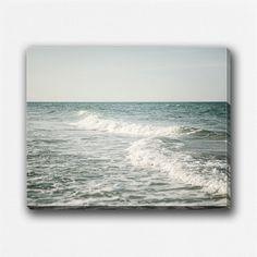 Pastel Beach Decor Canvas Wrap Beach by LisaRussoFineArt on Etsy, $60.00
