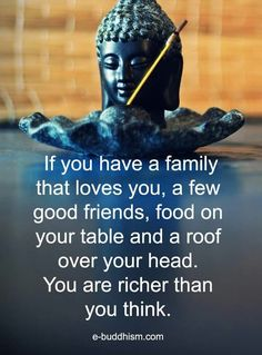 Wisdom Quotes : Rich in friends rich in love