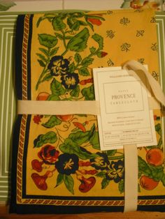 Williams Sonoma Has Great Table Linens   I Always Buy From Them   Great  Quality,