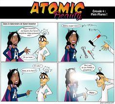 """Découvrez l'épisode #4 d'Atomic Beauty intitulé """"Plein Phares !"""". RDV chaque lundi à 18h sur https://www.facebook.com/labeauteselonuneparisienne pour suivre les épisodes de Atomic Beauty""""! #ATOMICBEAUTY #BEAUTEPARISIENNE #BD #SUPERWOMAN #BEAUTYBLOGGER #BEAUTY #COMICS #YOURCOMICS #HEROES"""