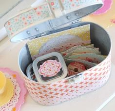 Home made tea party items for American Girl Dolls