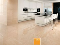 FLOOR Supernatural dorato brillante #fapceramiche #supernatural #ceramic #interior #floor #madeinitaly #tile #wall #marble