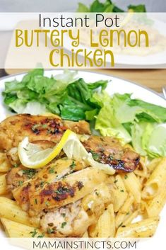 Instant Pot Buttery Lemon Chicken A deliciously buttery chicken dish that is easy to prepare in the Instant Pot and is always raved about! Prep takes minutes and it can be served with a variety of sides. Pressure Cooker Chicken, Instant Pot Pressure Cooker, Pressure Cooker Recipes, Pressure Cooking, Slow Cooker, Lemon Butter Chicken, Instant Pot Dinner Recipes, Chicken Breast Instant Pot Recipes, Recipes Dinner