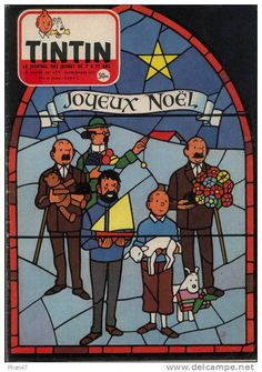 Joyeux Noël Tintin