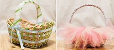 Dressing Up Easter Baskets Craft