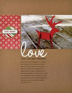 Love by Cathy Zielske #SCTMagazine #scrapbook #layout