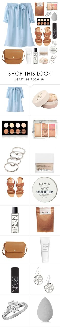 """Lisson"" by sophiehackett ❤ liked on Polyvore featuring Salvatore Ferragamo, NYX, Hourglass Cosmetics, Forever 21, NARS Cosmetics, Jack Wills, Paul Frank, BP., Tiffany & Co. and beautyblender"