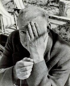Ernest Hemingway by Jean-Philippe Charbonnier. S)