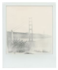 Polaroid 600 film: San Francisco's Golden Gate Bridge
