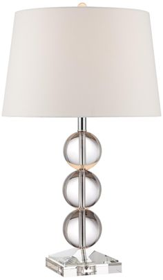 Mersenne Crystal Globe Table Lamp -