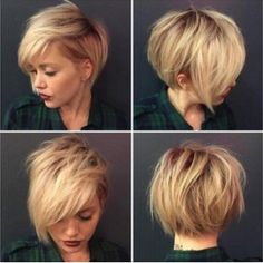 Fluffy Straight Synthetic Short Mixed Color Side Bang Capless Wig $12
