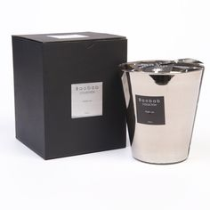 Platinum Scented Candle by Baobab