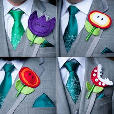 Super Mario inspired groom style. Photo by Contrast Studio.