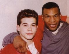 Arturo Gatti and Mike Tyson