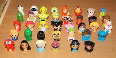 Disney Wikkeez U.K. Series 1 & 2 Large lot, Stitch, Buzz, Elsa, Jessie and more  #PPI