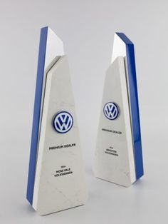 Volkswagen Dealer of the Year Award Trophies Trophies And Medals, Custom Trophies, Environmental Graphic Design, Environmental Graphics, Plaque Design, Award Plaques, Crystal Awards, Acrylic Awards, Trophy Design