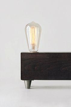 Wolfram lamp from + w o l f r a m g r a f i k  by DaWanda.com