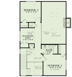 Plan 60535ND: Rustic Retreat