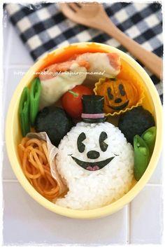 Halloween Bento - Mickey