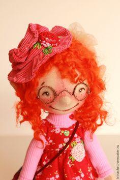 Купить Малышка Бетти - гномик, гномочка, кукла ручной работы, кукла текстильная, коллекционная кукла