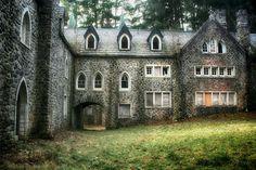 Upstate New York - abandoned castle
