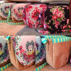 """""""Finished my Swoon Sandra's in cork with Tula Pink, Amy Butler and Jennifer Paganelli and in love with them all! #swoonpatterns #tulapink…"""""""