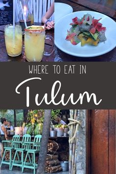 tulum food / where to eat in tulum mexico