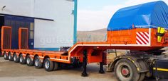 7 Axles Lowbed Semi Trailer