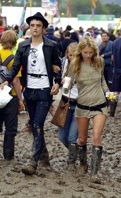 Kate & Pete Glastonbury 2005