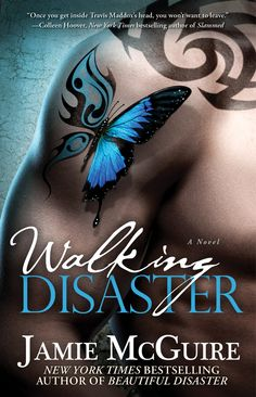 Walking Disaster by Jamie McGuire. Book 2 of the Beautiful series.  Loved this one more then the first.  5 stars. couldnt put it down even though i knew the story line of what was going to happen! Highly recommend, but need to read the other one first!