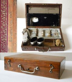 Antique French watercolor box...I love it and I bought it. Wow!