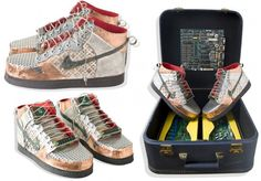 Sneaker recycling